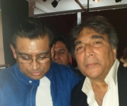 with Amit Kumar , son of Mr Kishore  Kumar ( 2018 )