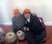 with Tabla Genius Ustad Taufique Khan Quereshi