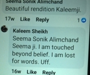 observation from Family of Master Sonic , the celebrated music director